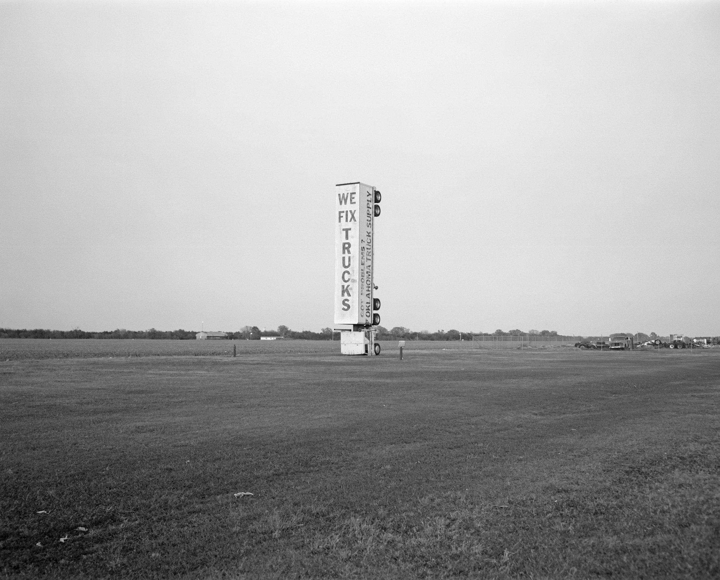 Tonkawa, Oklahoma, 2018 - 4x5 TMAX 100