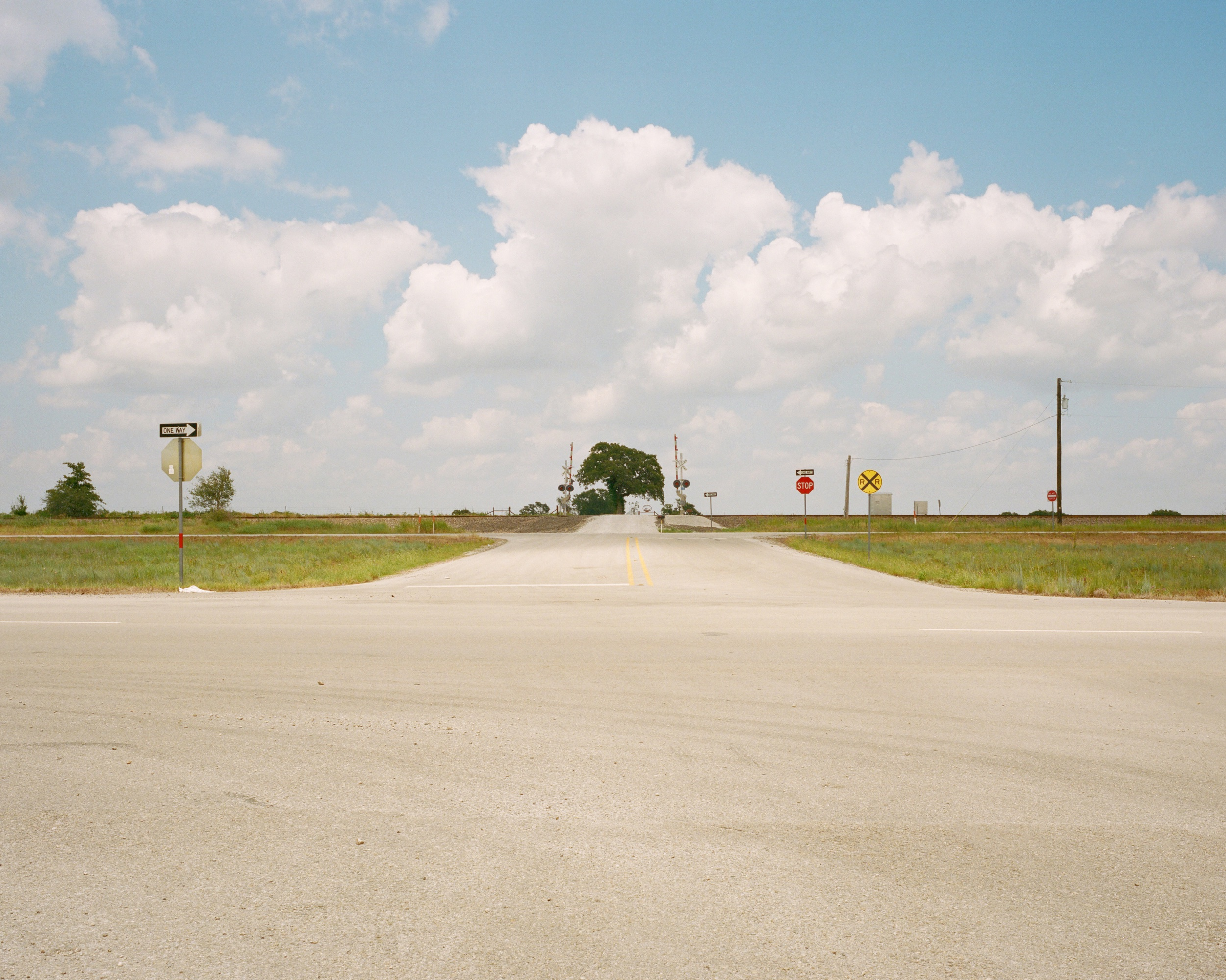 Highway 287, Texas, July 2019 - 120 Portra (6x7)