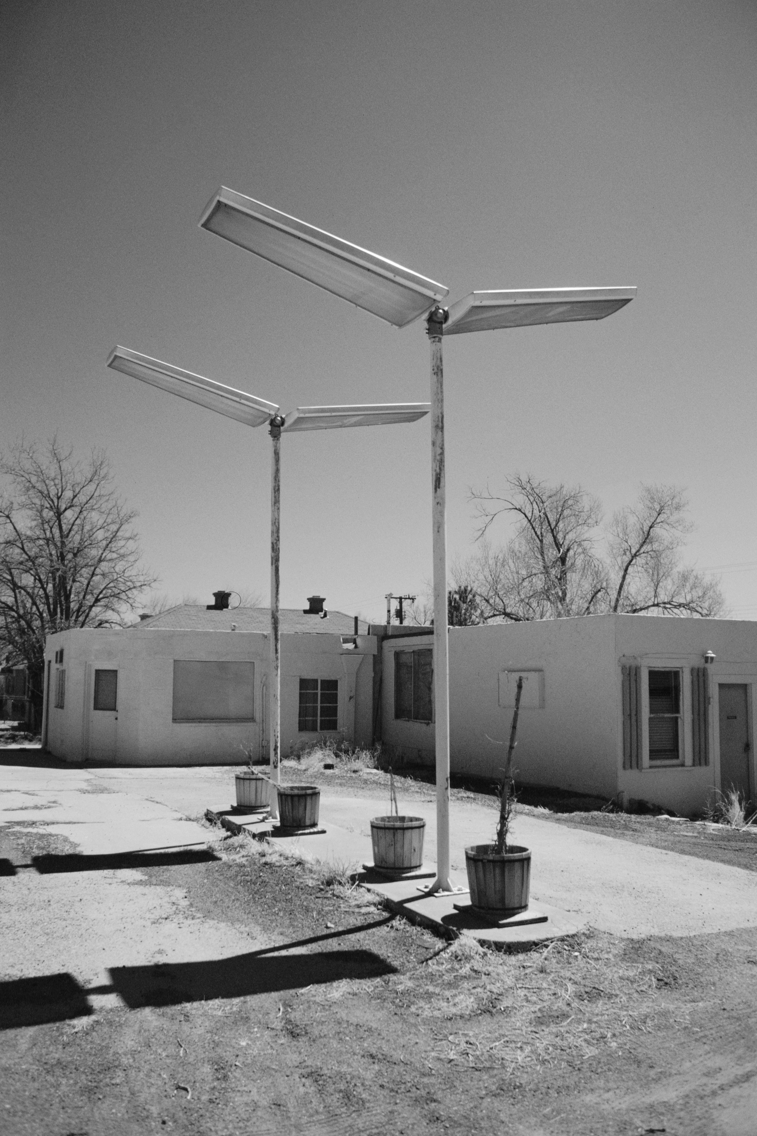 The old service station lights, Seligman, AZ, 2008/9 - 35mm