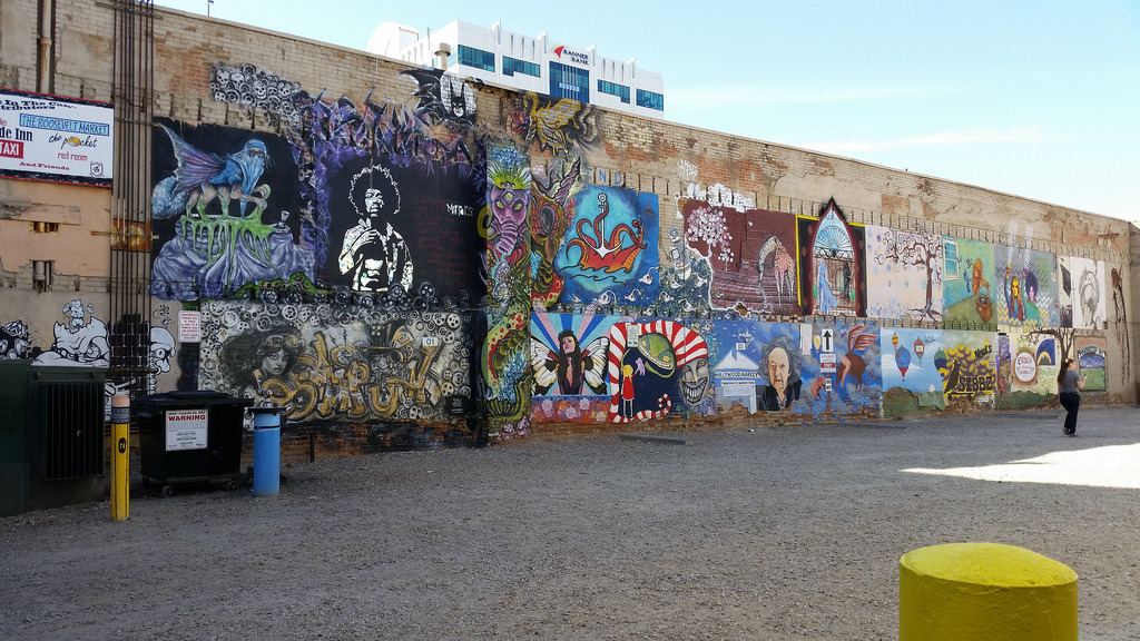 Freak Alley, Boise Idaho