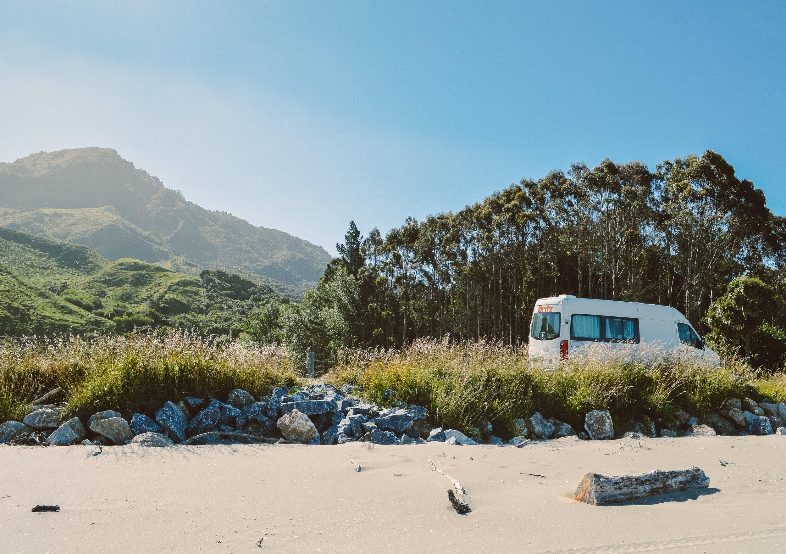 New Zealand South Island Camper Van Escape