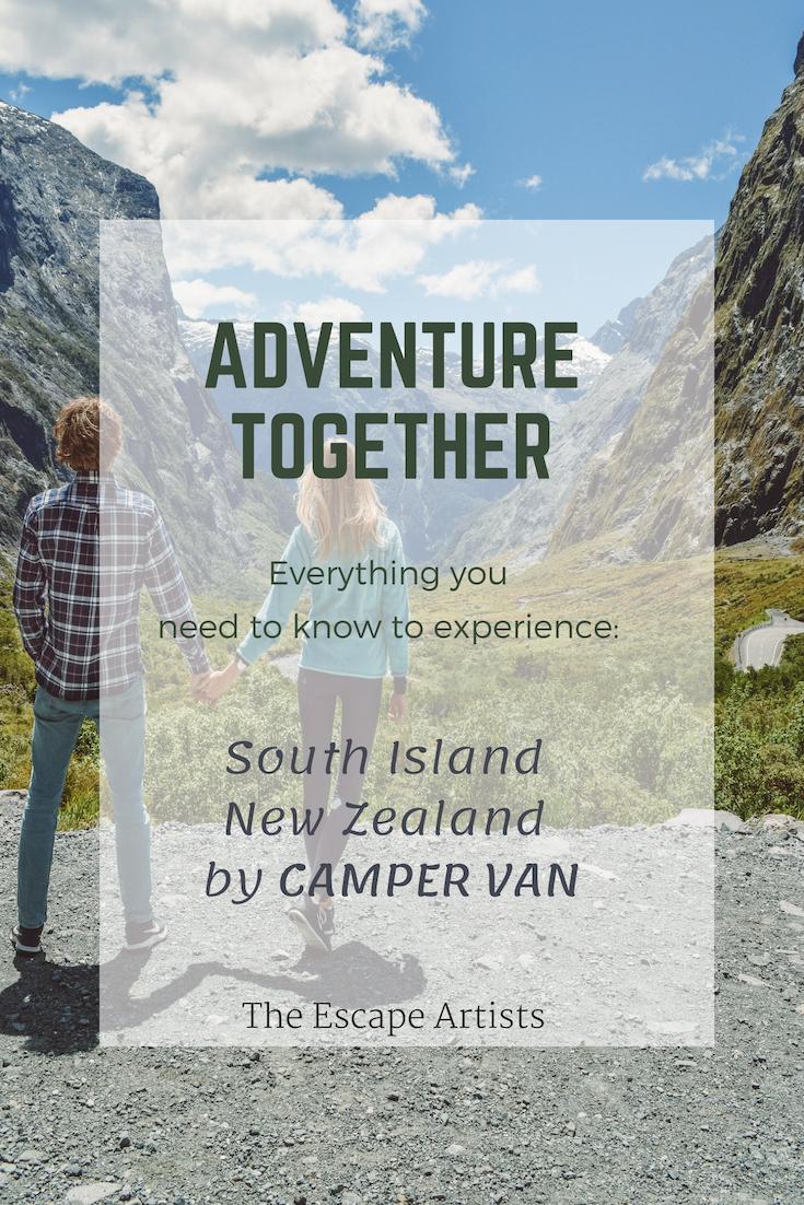 New Zealand Camper Van Escape