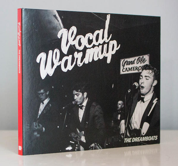 """Vocal Warmup"" EP by The Dreamboats, front cover (Physical & Digital)"