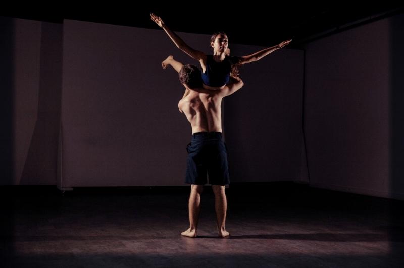 Title: Maria has logged off  Choreography by Evita Zacharioglou  Performers: Hyeyoung Jo Borden,Ryan Pliss, Alisya Razman Adam, Kelsey Rondeau, Evita Zacharioglou  Collaborator/Dancer: Dante J. Norris, Jihyun Kim