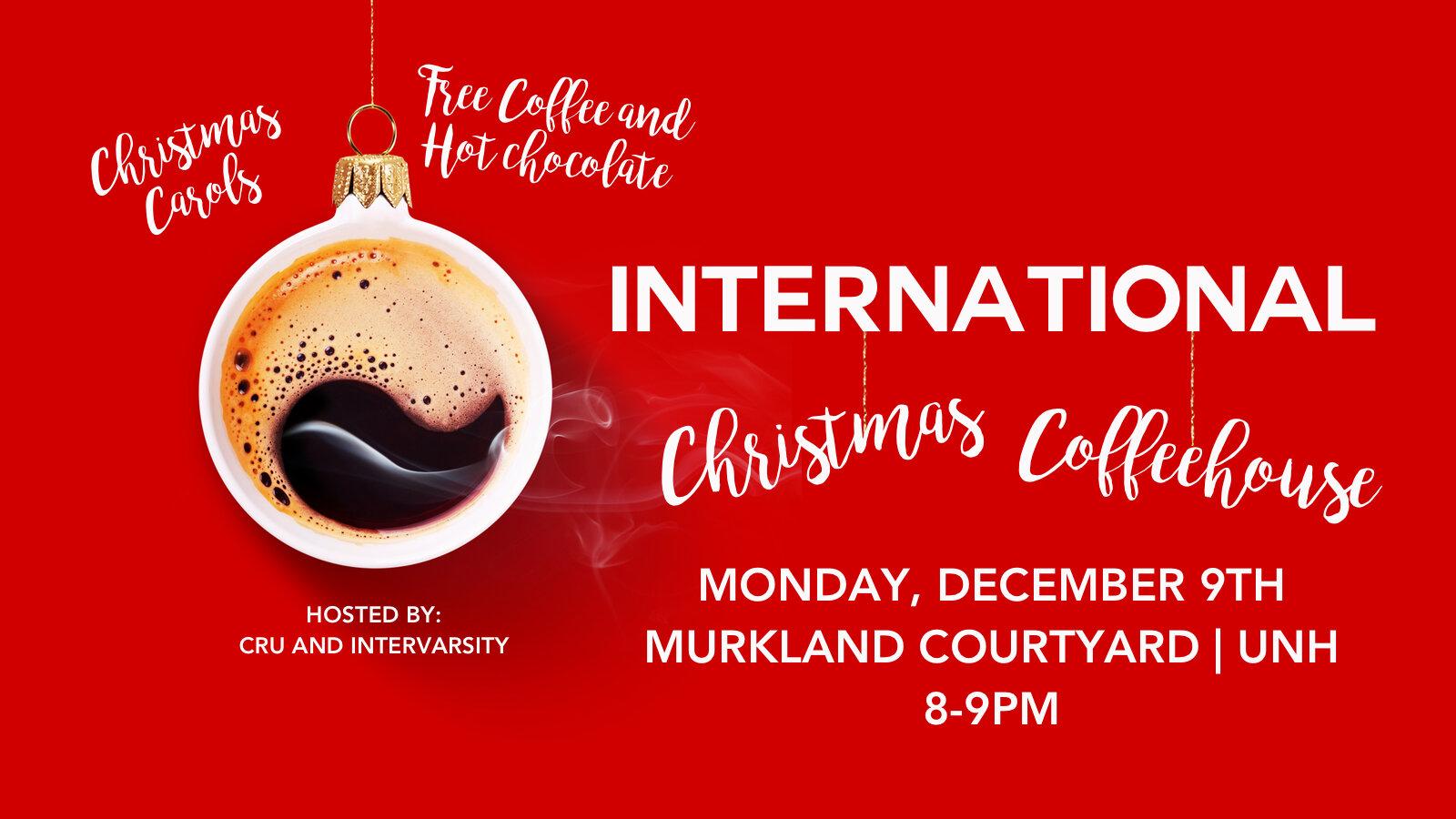 International Christmas Coffeehouse Durham Evangelical Church