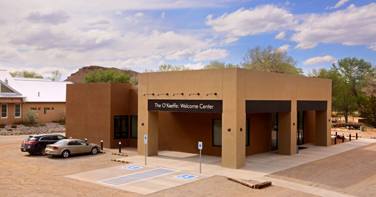 the o'keeffe welcome center
