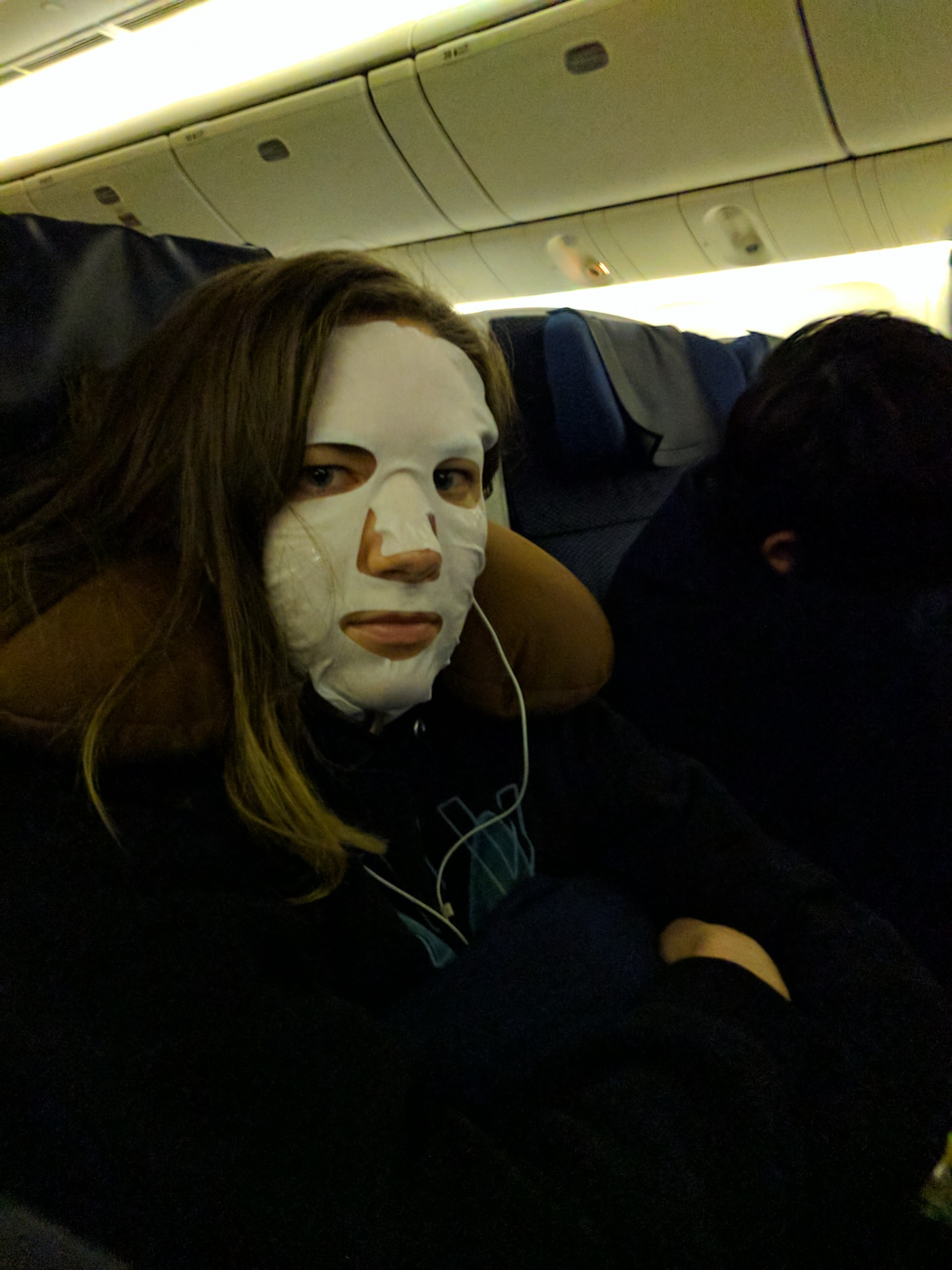I'm going for most embarrassing person of the flight here.