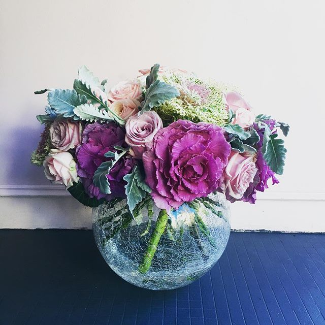 Today's arrangement, feels like spring even though we're in the middle of winter! #sydneyweddingstylist #weddingFlowers #sydneyflowers