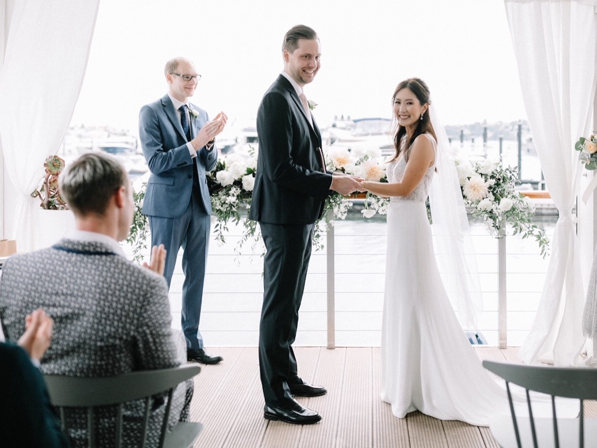 Outdoor wedding at Rose Bay by The Curated Life