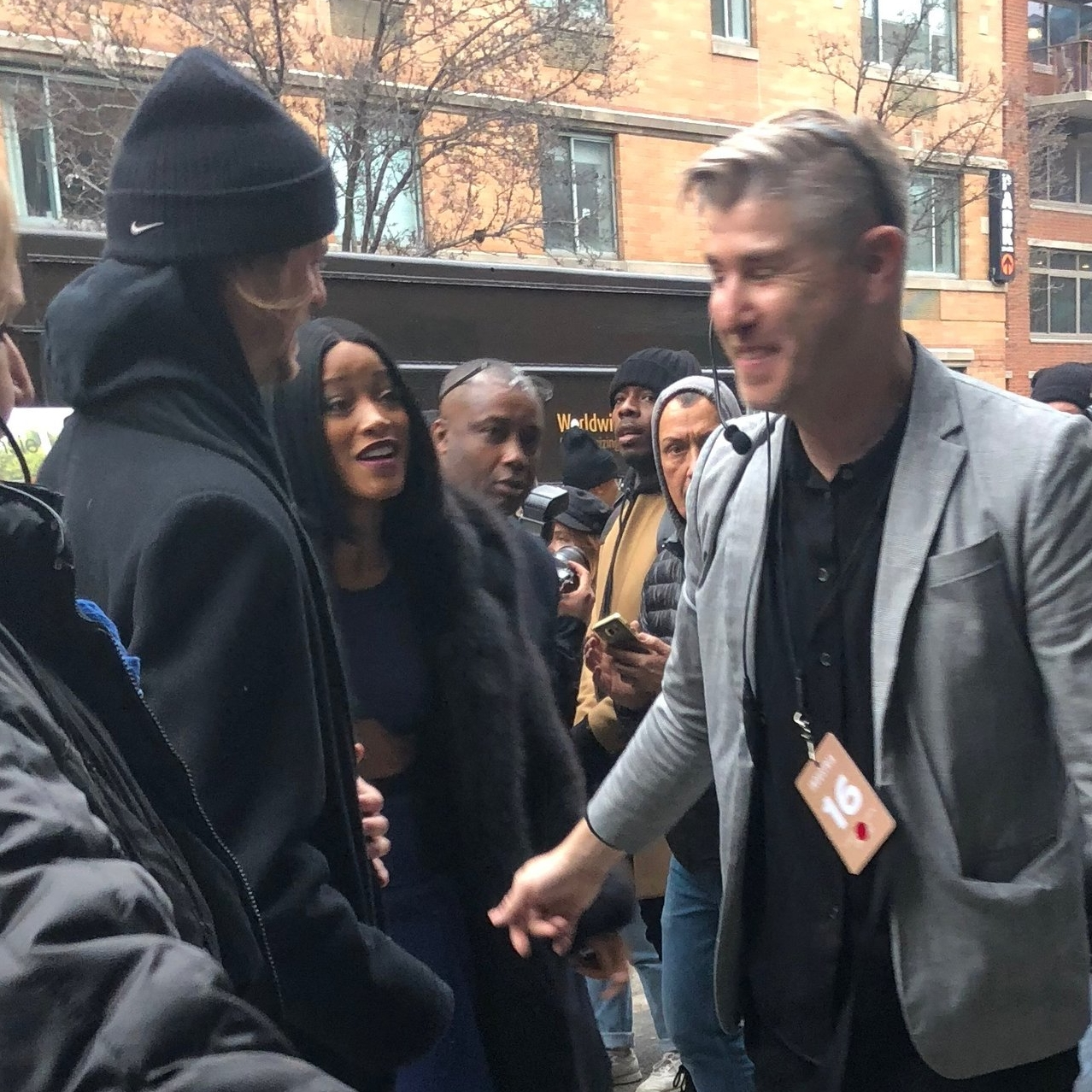 """Finally,Keke Palmer. I've loved her always and especially in Scream Queens. I'm not one to take photos of celbriteis, but I did really want to shout """"Shaday Zaday!"""" If you know, you know. I also saw Kendall Jenner and Whoopi Goldberg for those interested."""