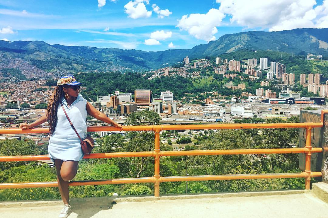 One of the best views of Medellin, Colombia is at Pueblita Paisa