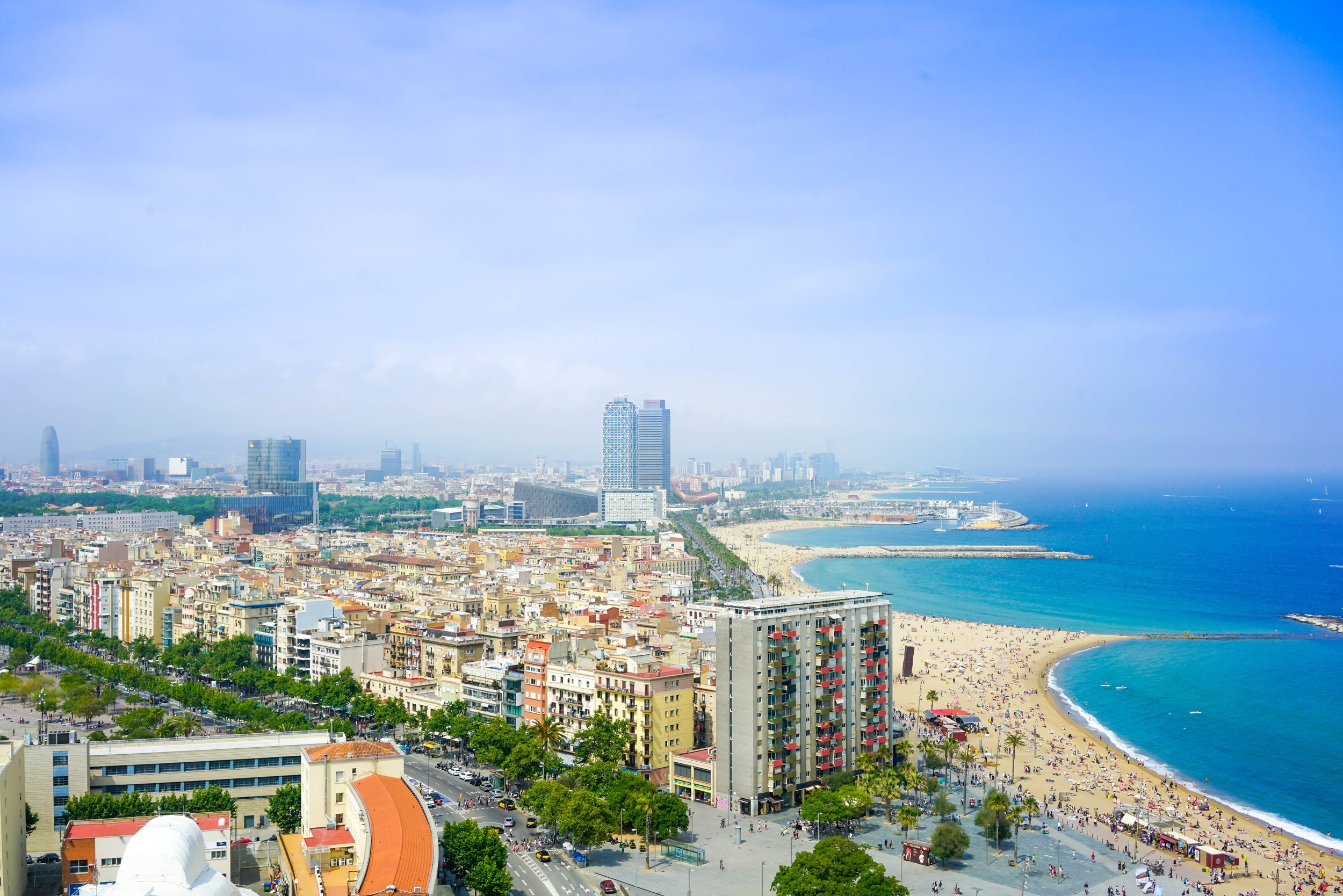 BARCELONA, SPAIN - MAY - JUL 2019