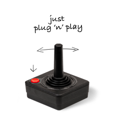 Joy stick - just plug and play