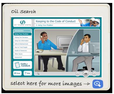 oil search