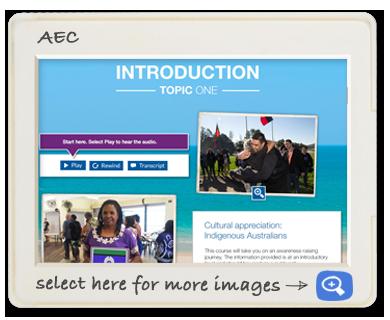 Australian Ellectoral Commission screen shot