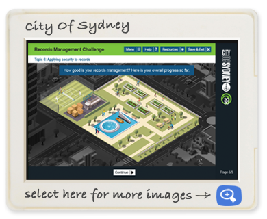 City Of Sydney eLearning Game from Openlearn
