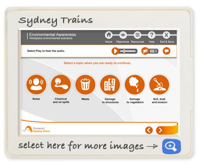 Sydney trains - Enviromental awareness