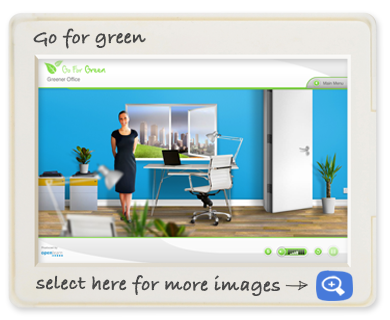 Openlearn off-the-shelf Go For Green Screen shot