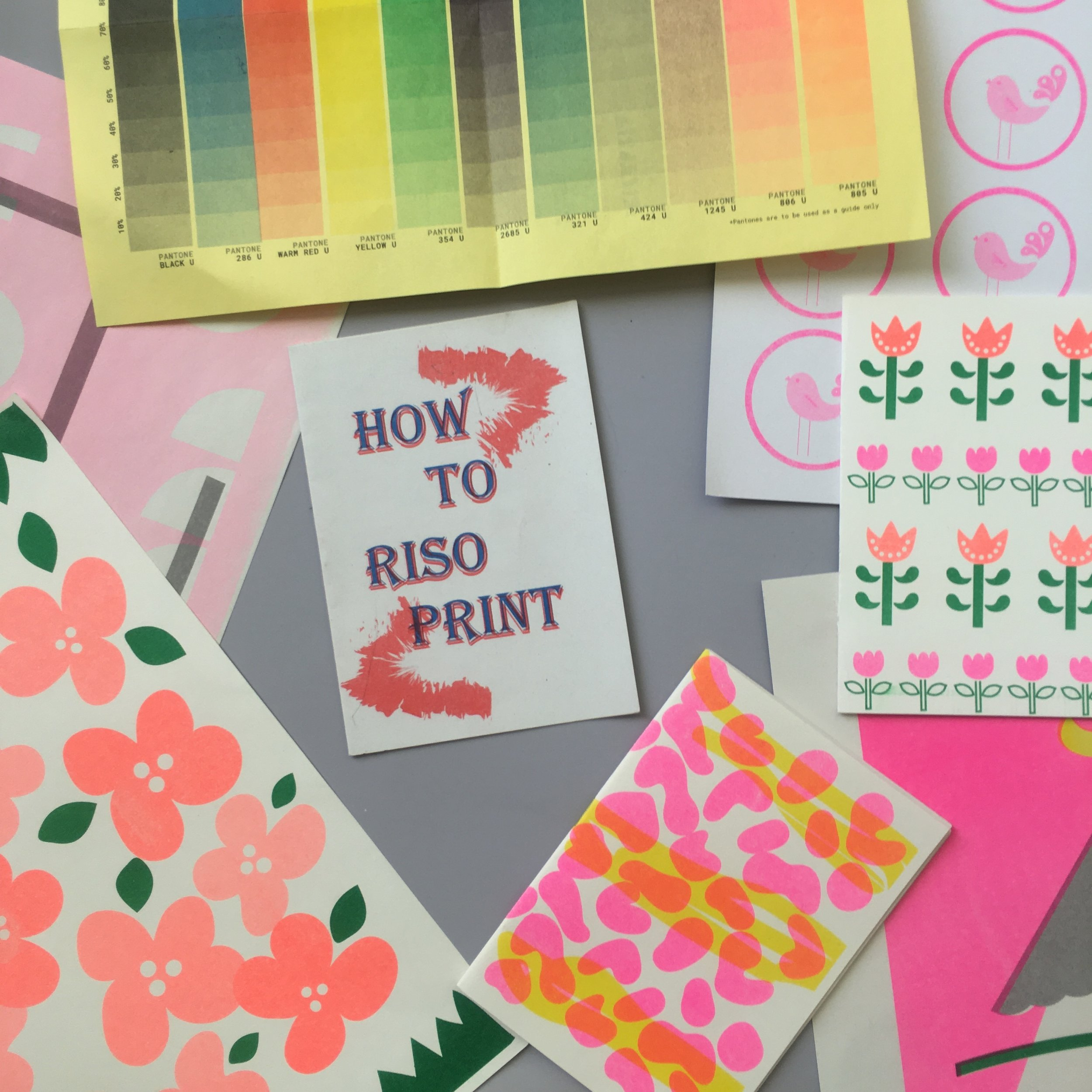 Learn to Riso Print - Saturday September 21st   Learn how to use a Risograph printer to make cool and unique prints