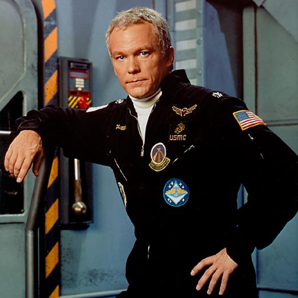 "Colonel T.C. McQueen from ""Space: Above and Beyond."""