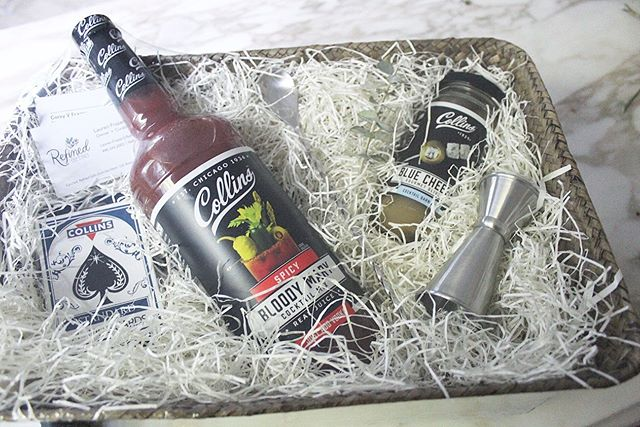 Another cocktail mixer gift that was raffled off at a recent local golf outing! Who doesn't love brunch with a good Bloody Mary!? ⛳️🍹🥓