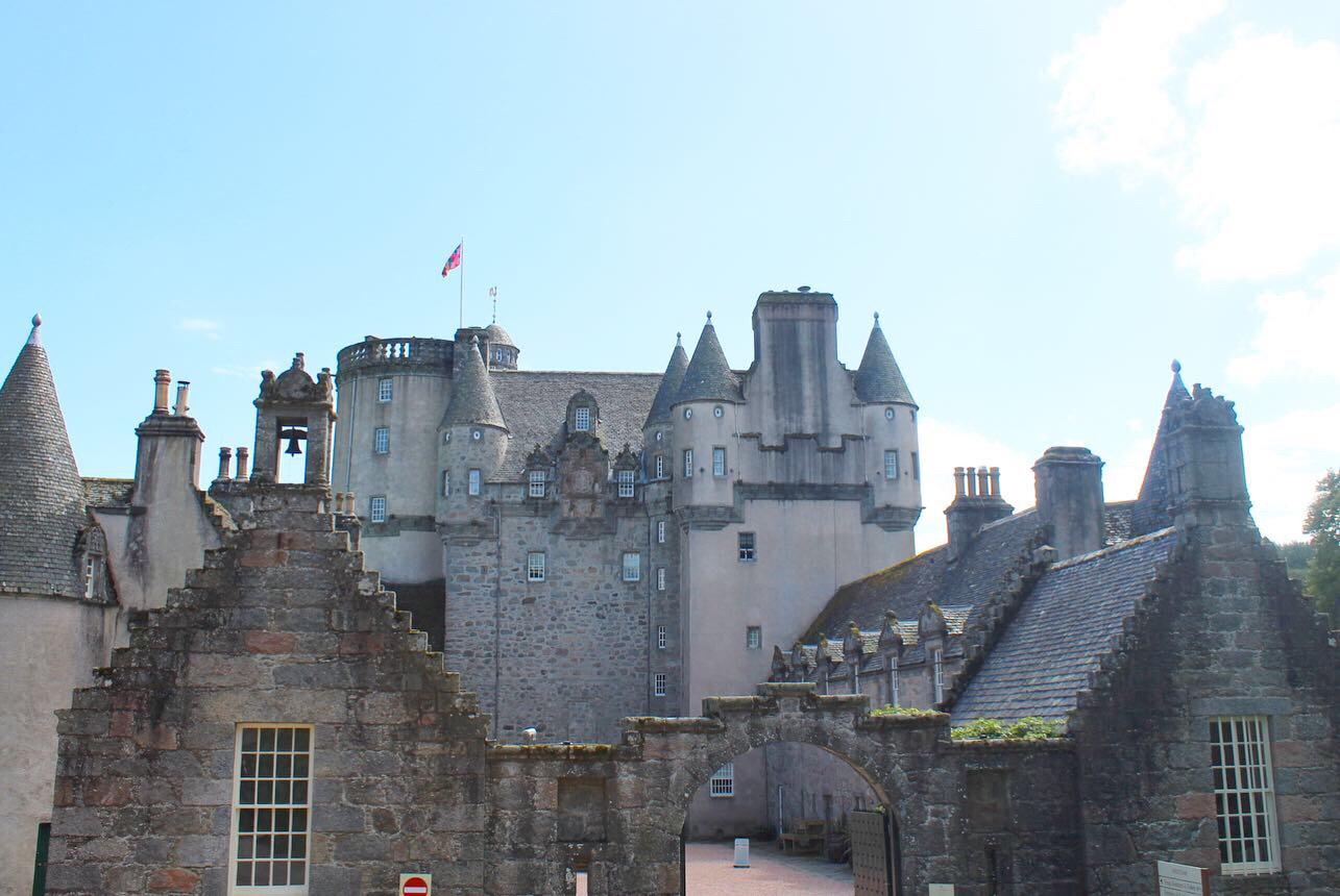 Photo of fraser castle, scotland