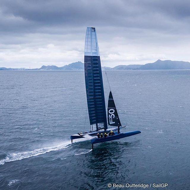 Sail GP F50 | Credit: Beau Outteridge