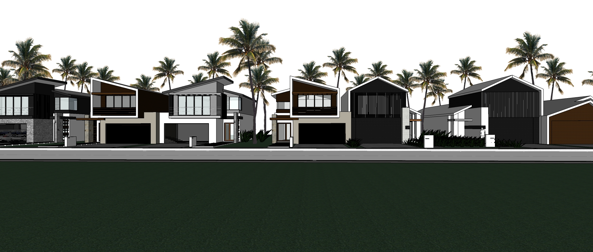 Streetscape Plan - Sketch Up