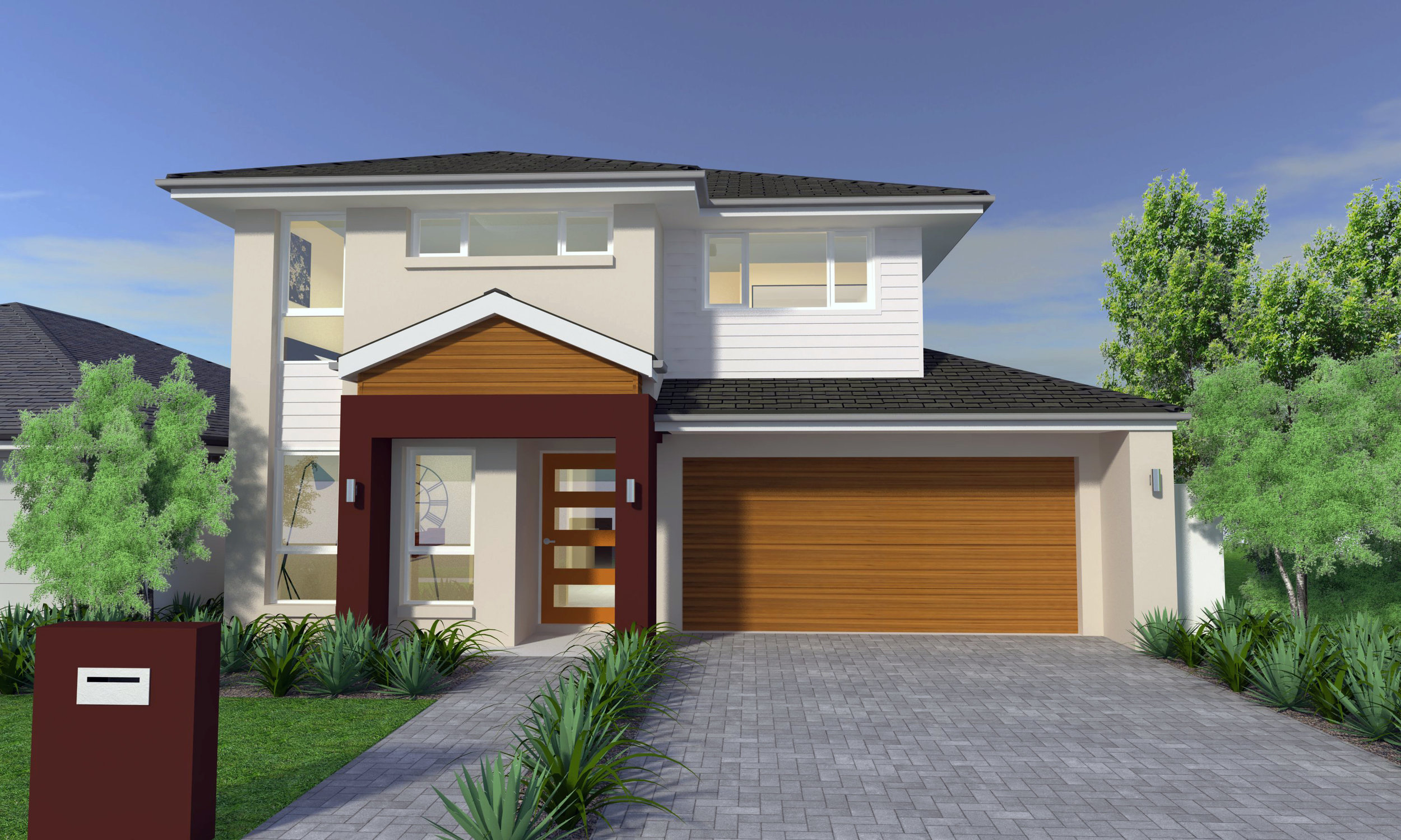 3D Model and Vray Render for Client Elderton Homes