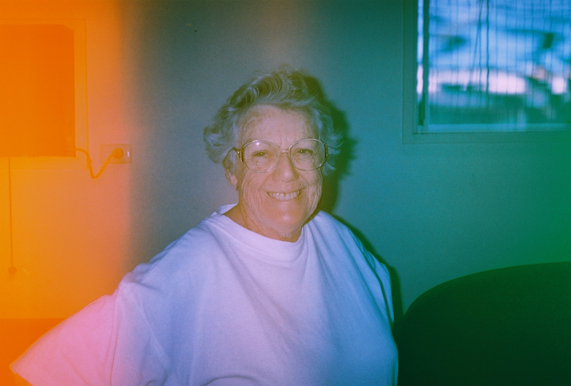 I have no idea who this is but the camera came loaded with some Kodak Gold 100 it must have been old as cause my test roll had no leaks at all. I was super interested to see what was on the previous owners roll but that was it unfortunatly.