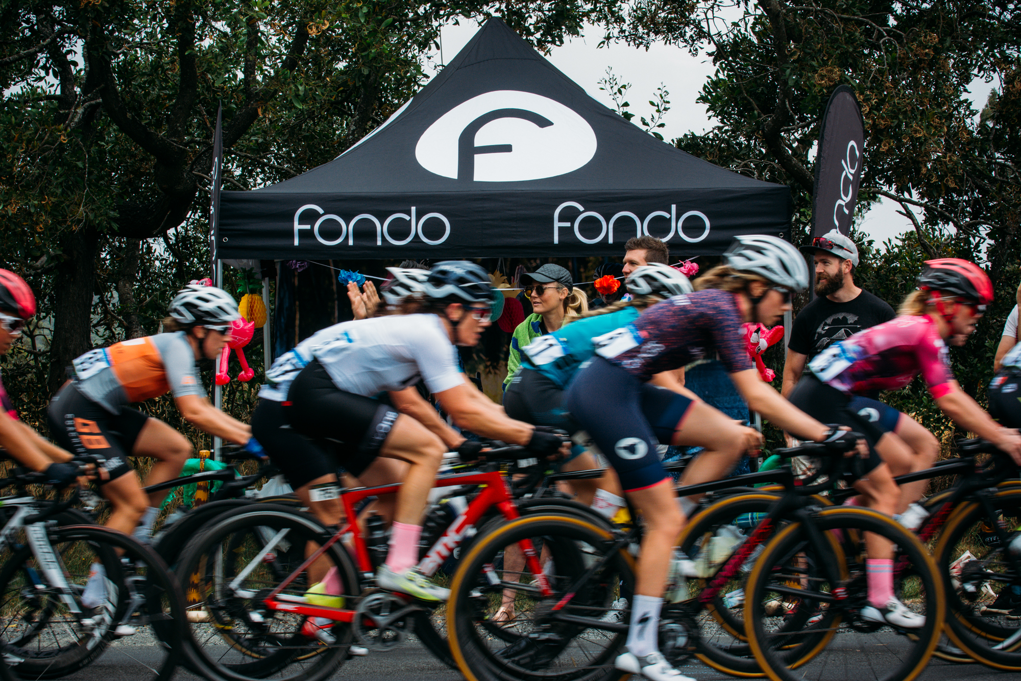 Thanks Fondo for letting us use the tent as a base for the day