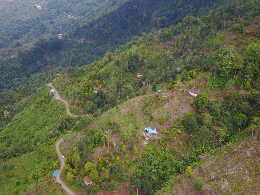 Drill Site at Salu Bulo