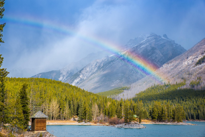 Minnewanka Lake, Alberta