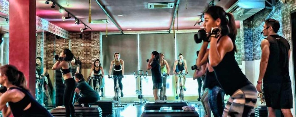 """Energy Bootcamp ($) - The """"Barry's bootcamp"""" of Bangkok?Location: Nuam Complex Soi 33, Sukhumvit Rd"""