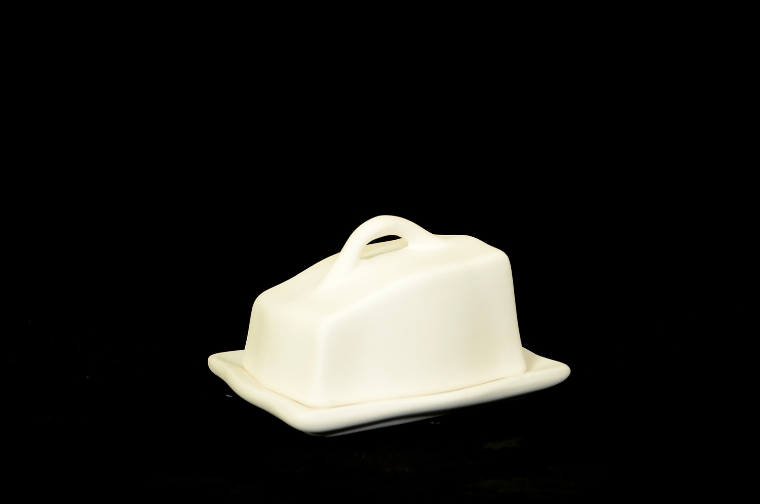 BUTTER DISH TOP & BOTTOM
