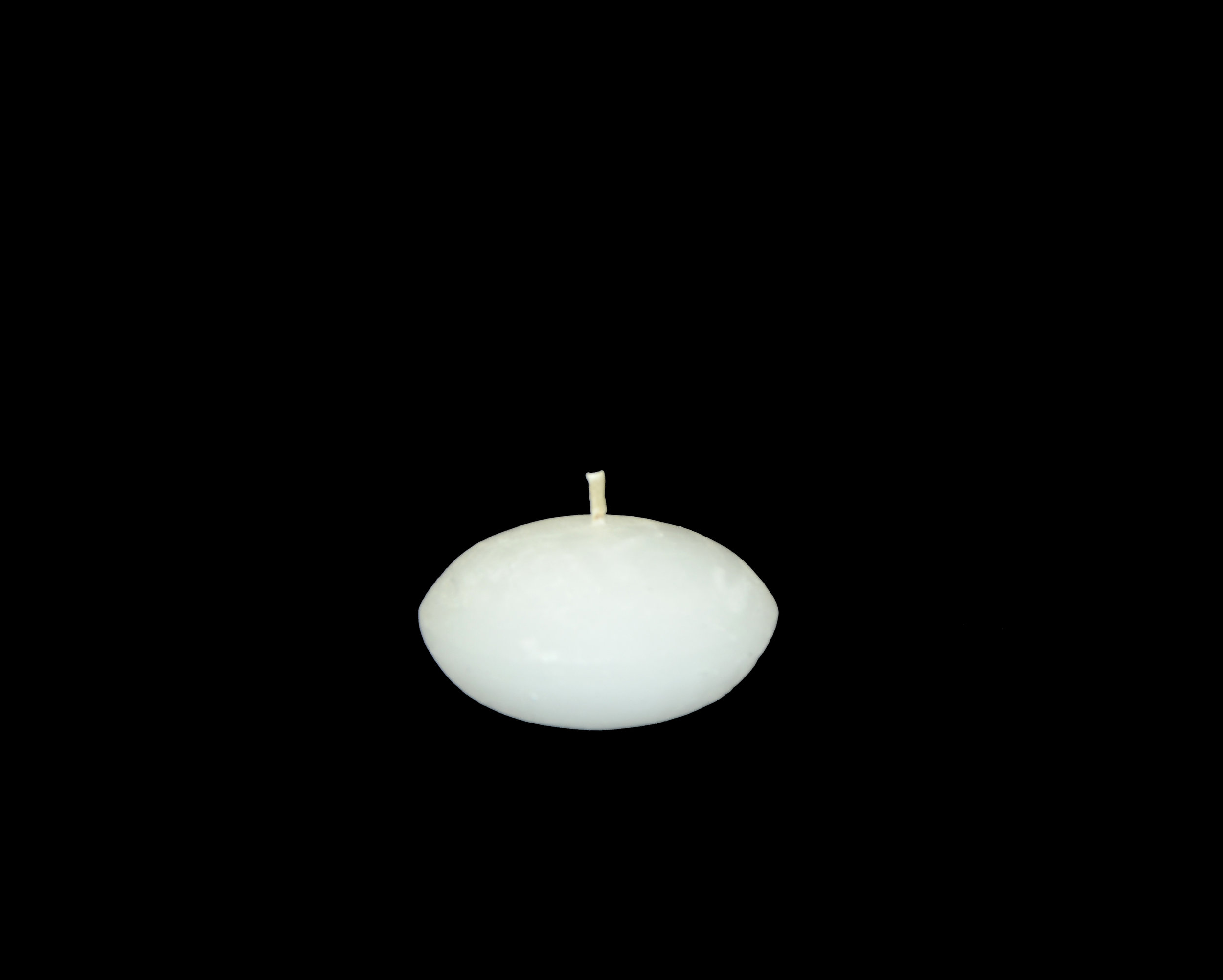 PLAIN FROST FLOATING CANDLE