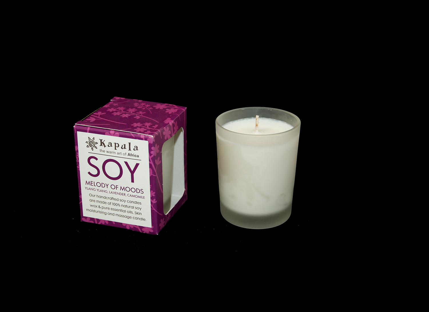 SOY CANDLE VOTIVE GLASS