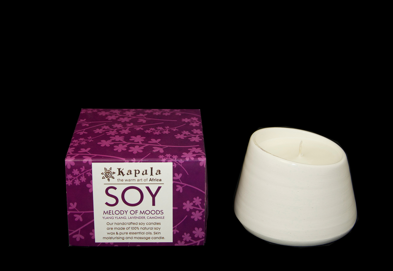 SOY CANDLE CERAMIC LARGE