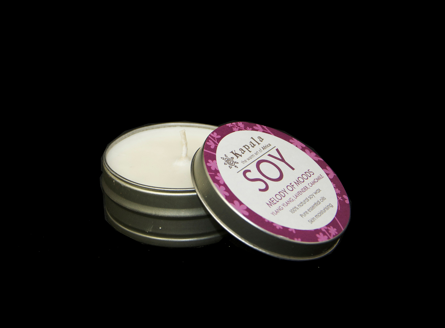 SOY CANDLE TRAVEL TIN SMALL