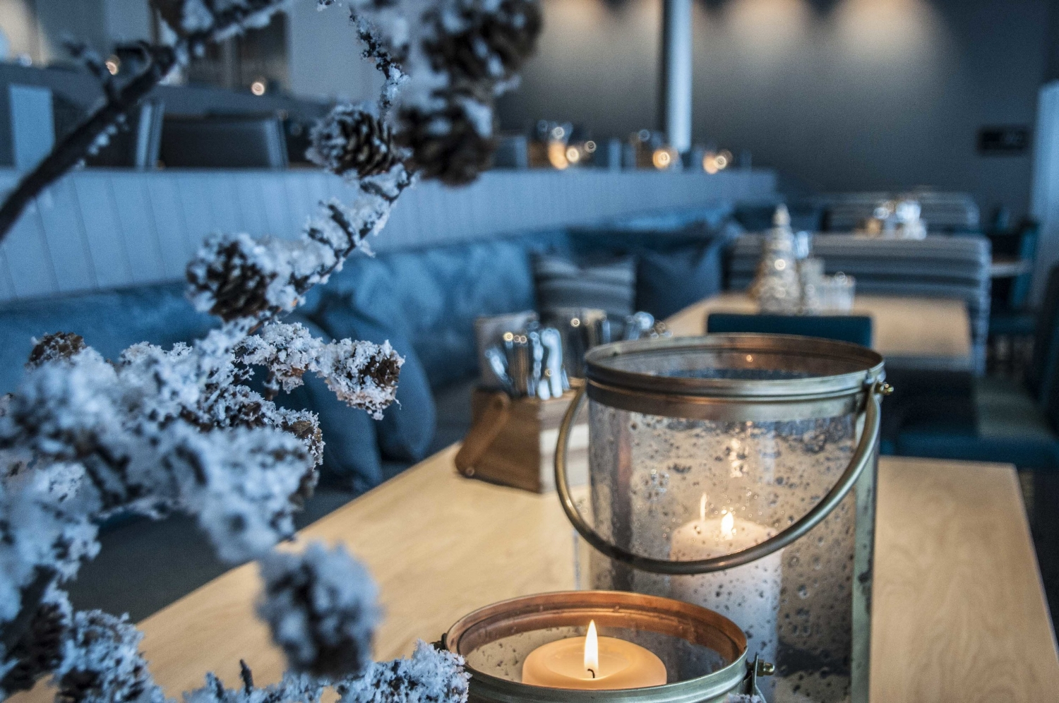CHRISTMAS   Christmas at 1011 meters above the fjord will show you the real winter wonderland.  See photos.