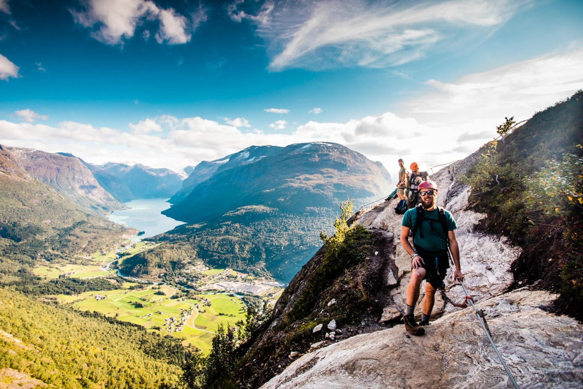 Via Ferrata Loen. Foto: Lovestorm Photography