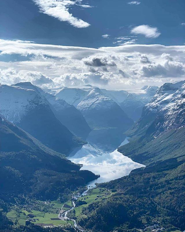 Loen today 😍 #LoenSkylift #Hoven #visitnorway #Fjordnorway #Norway #fjord #Stryn