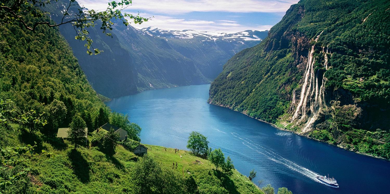 Geirangerfjord. Photo: Per Eide