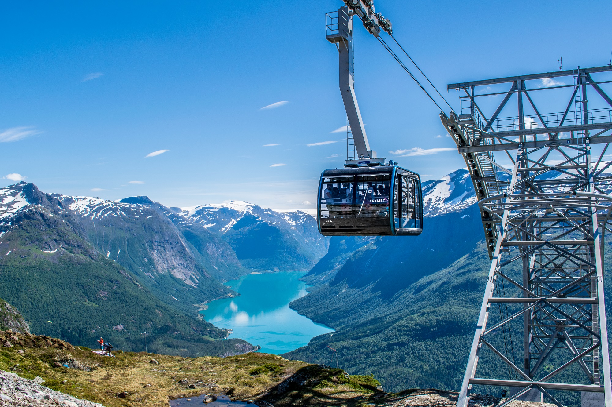 Loen Skylift. Photo: Reidar Nesje/Loen Skylift