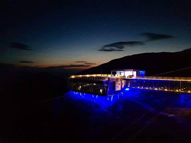 Good night ✨ #loenskylift #night #norway #Norge #visitnorway #fjordnorway #Loen