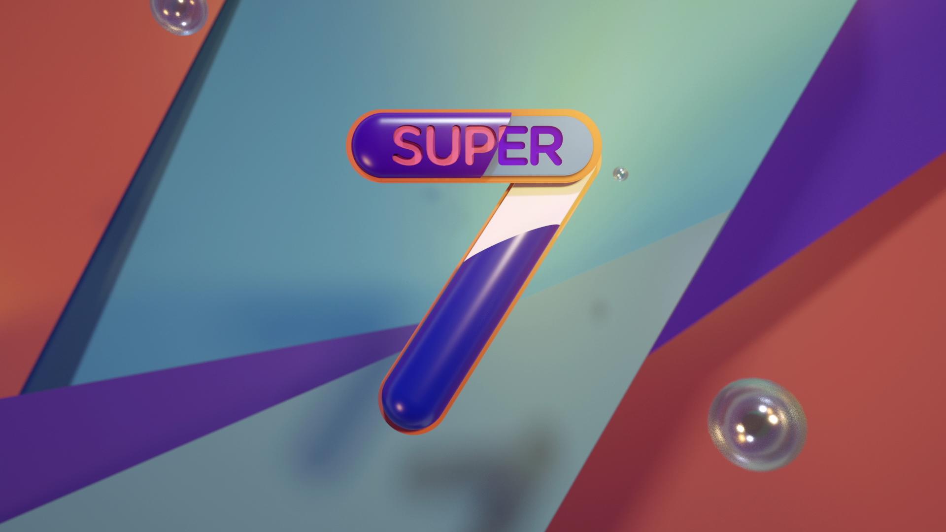 BRANDING — SUPER 7 - — DESIGN