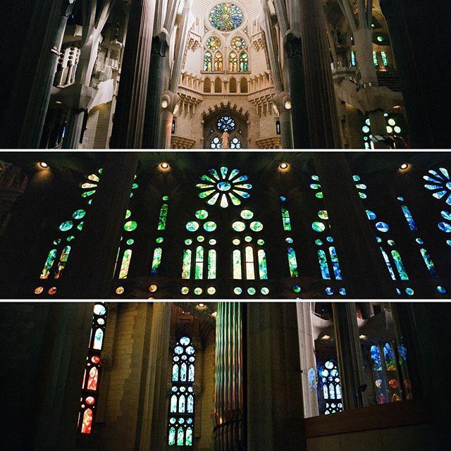 Work of Gaudi.  #hasselblad #hasselbladxpan #xpan #natura1600 #sagradafamilia