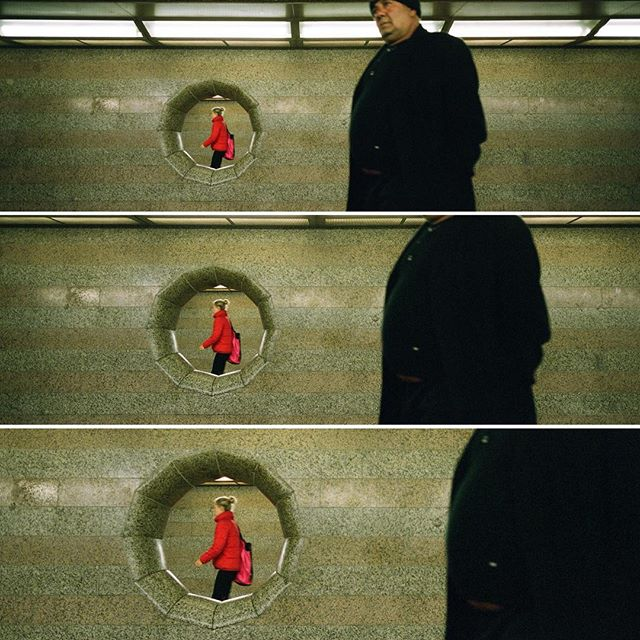 Metro stop  #hasselblad #hasselbladxpan #xpan #fuji400h #berlin