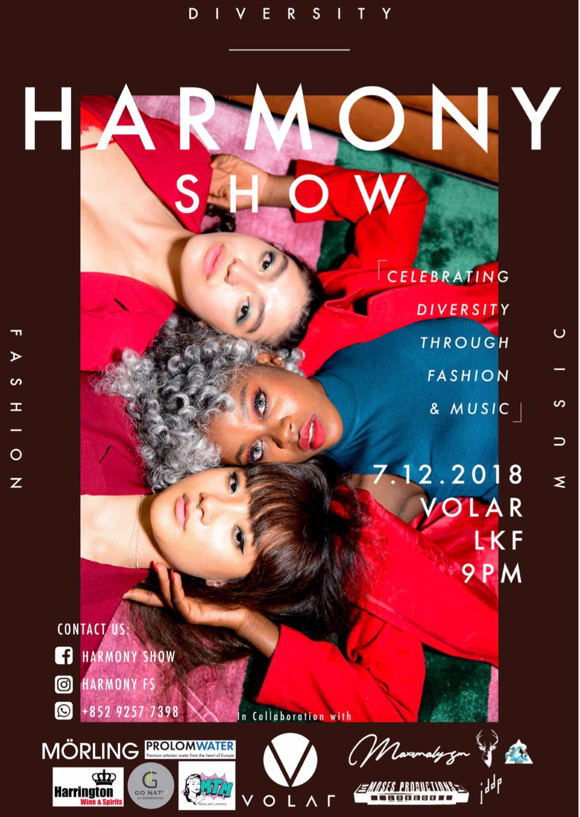 - MÖRLING STUDIOS sponsored and supported HARMONY SHOW December 2018, to raise money for The Hong Kong education centre, a community founded for refugees. We believe it is important to help other people to realise their dreams and being offered the right of education.