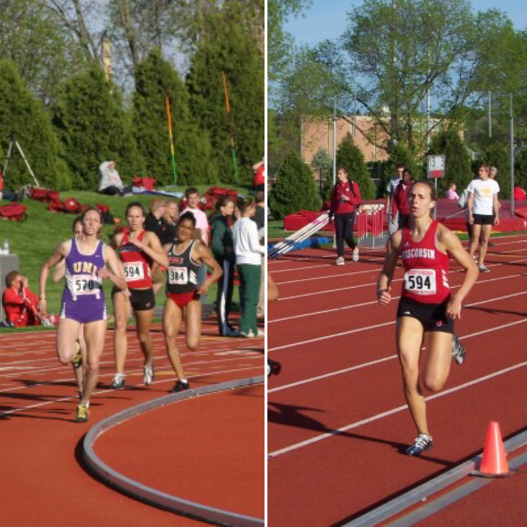 """My early days in the 800M. """"Go out hard and try to hang on."""""""